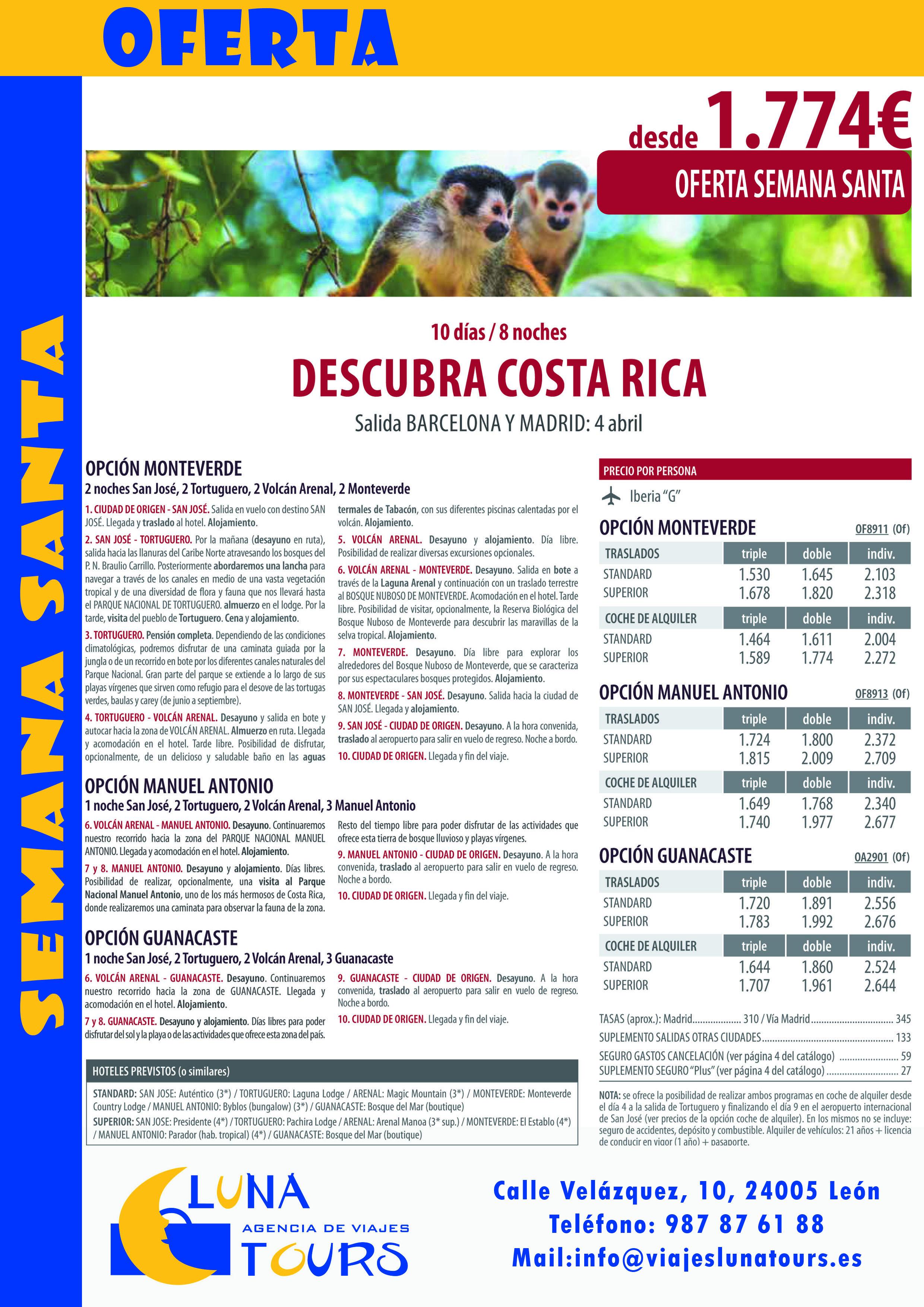 COSTA RICA SEMANA SANTA